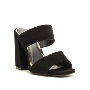 Size 6.5 block heels. Never worn!!!! &25 OBO